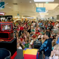 Crowd At Johnny the Jester Show Image
