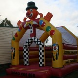 Clown Jumping Castle Image