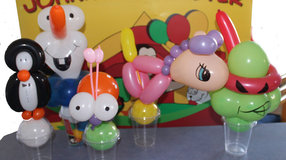 Lolly Buddies - Balloon creations for lolly cups