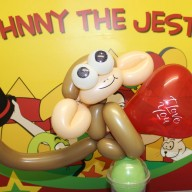 Johnny the Jester Balloon Monkey Image