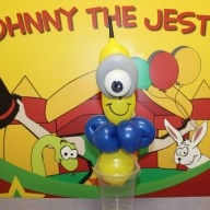 Johnny the Jester Balloon Mininons Image