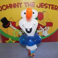 Johnny the Jester Balloon Olaf Image