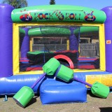Rock and Roll Jumping Castle Image
